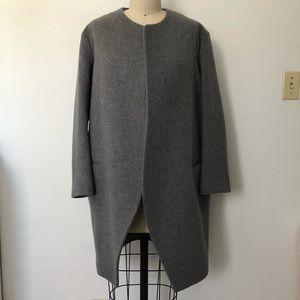 Wool cocoon coat - worn once!